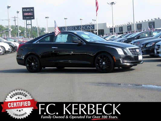 Cadillac Ats Coupe >> 2016 Cadillac Ats Coupe Luxury Collection Awd
